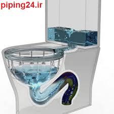 بازکردن لوله های توالت فرنگی در
